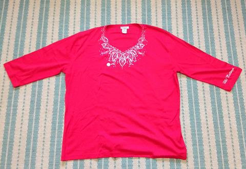 Isaac Designs 3/4 sleeve shirt