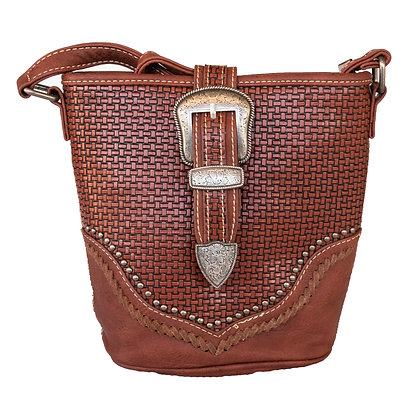 Trinity Ranch Buckle Handbag