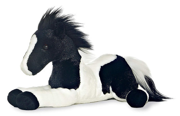Star Painted Plush Horse
