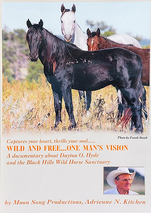 WILD AND FREE, ONE MAN'S VISION DVD
