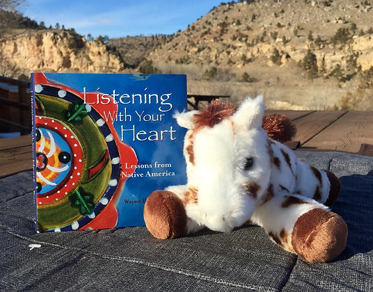 Listening With Your Heart and Plush Horse Gift Package