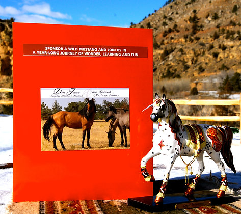 Spanish Mustang Sponsorship Packages