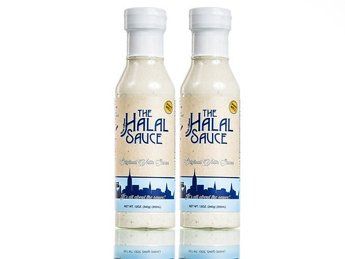 2 Bottles - The Halal Sauce