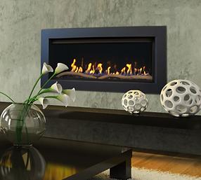 Savannah Gas Fireplace Pinnacle 55