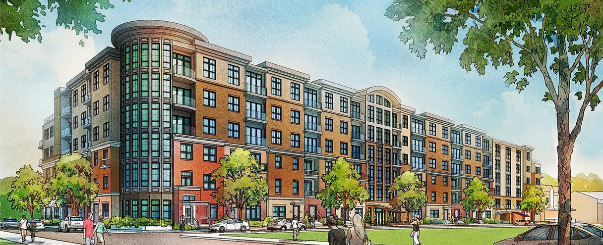 Lynx Professional Services Case Study: Walnut Grove - Concept Drawing | Outsourced Expert Architectural Services - USA
