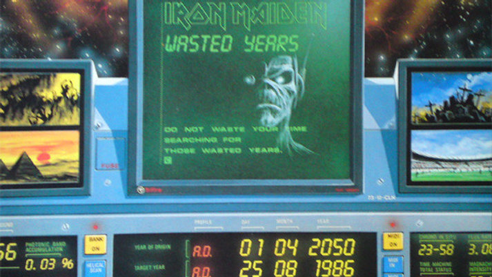 "Iron Maiden - Waysted years (12"")"