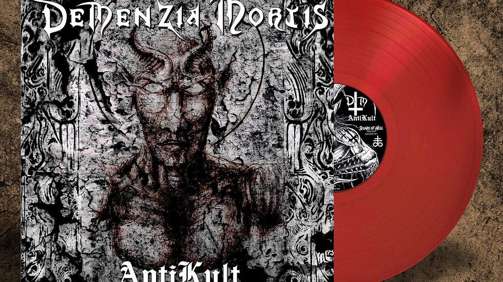 Demenzia Mortis - Anti Kult (lp, red vinyl)
