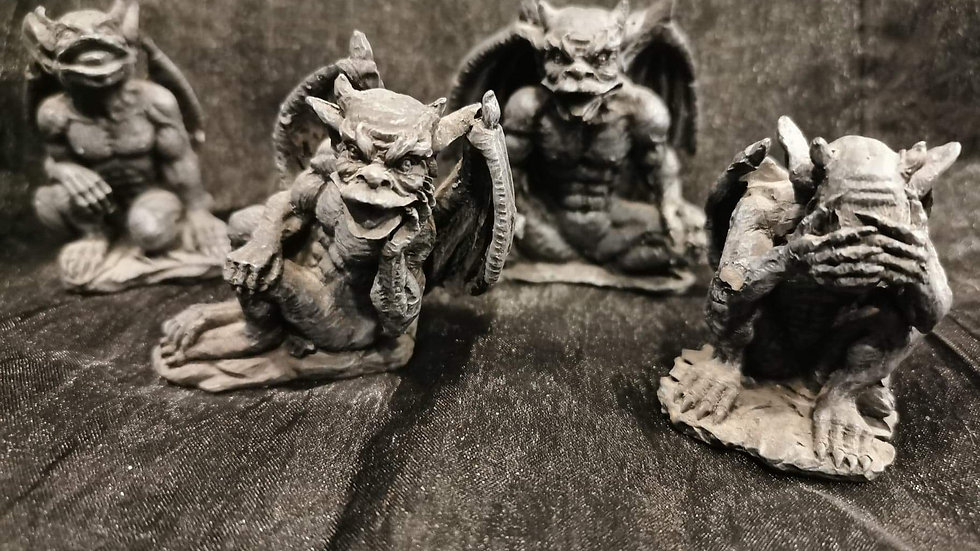 4 Little Gargoyles
