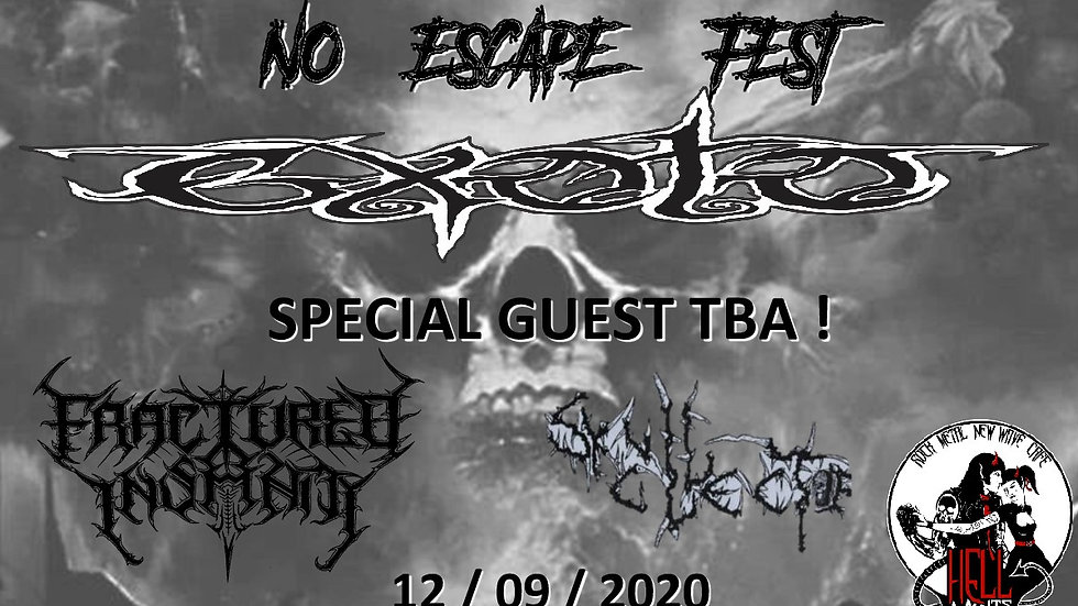 No Escape Fest (ticket includes 1 free drink!)