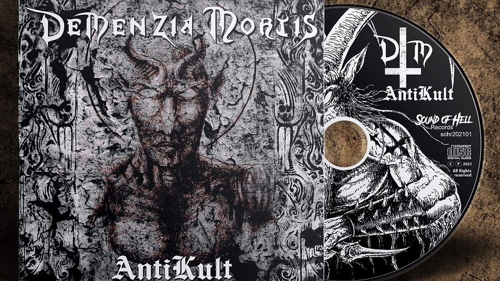 Demenzia Mortis - Anti Kult (digipack cd)
