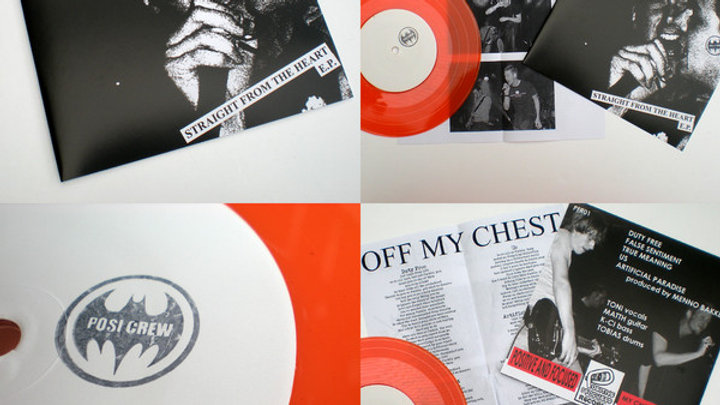 Off my Chest - Straight from the heart (orange vinyl)