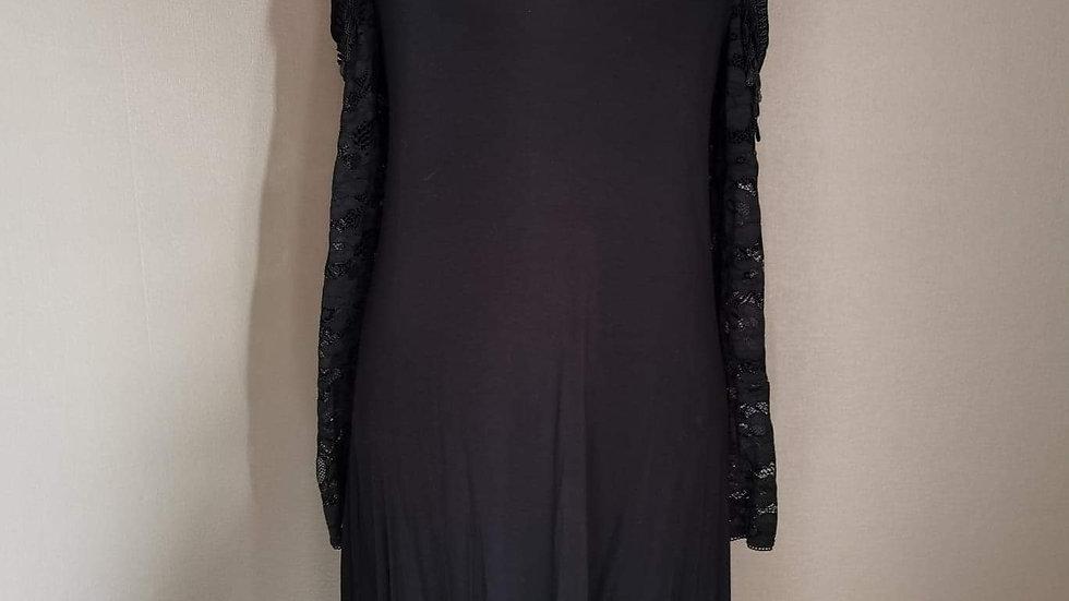 Lange jurk Gothicana