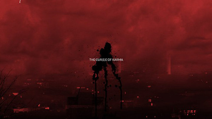 """Lost Life - The cur(s)e of karma (12"""")"""