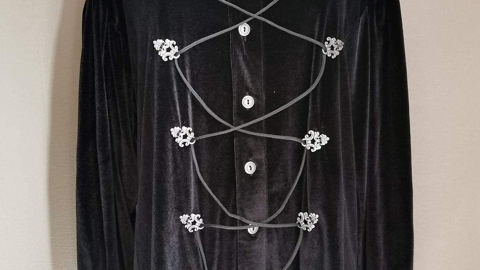 Fluwelen hemd Aderlass