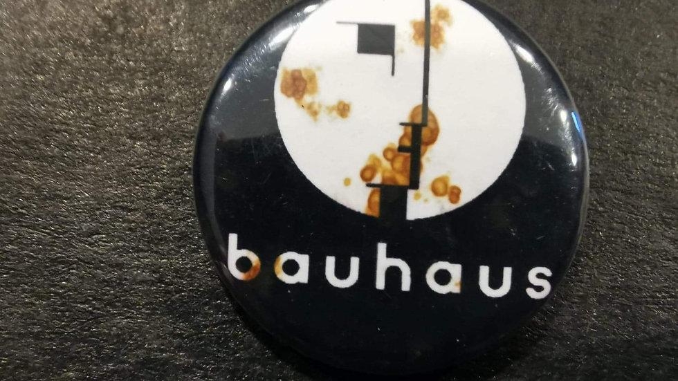 Bauhaus & The Cult & The Lords of the new church pins set
