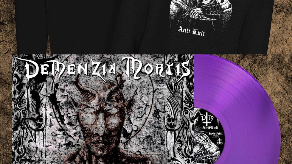 Lpbundle5- purple vinyl + hoodie
