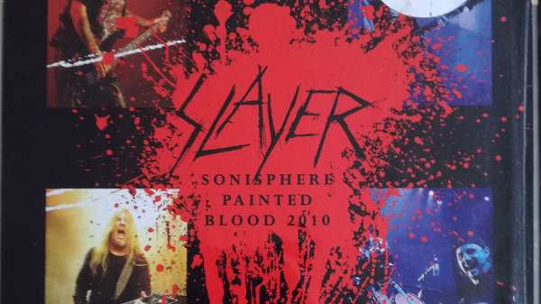 Slayer - Sonisphere painted blood