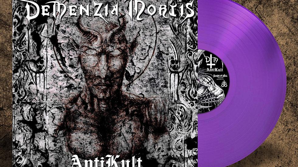 Demenzia Mortis - Anti Kult (lp, purple vinyl)