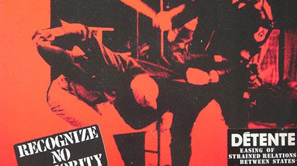 """Détente - Recognize no authority (12"""")"""