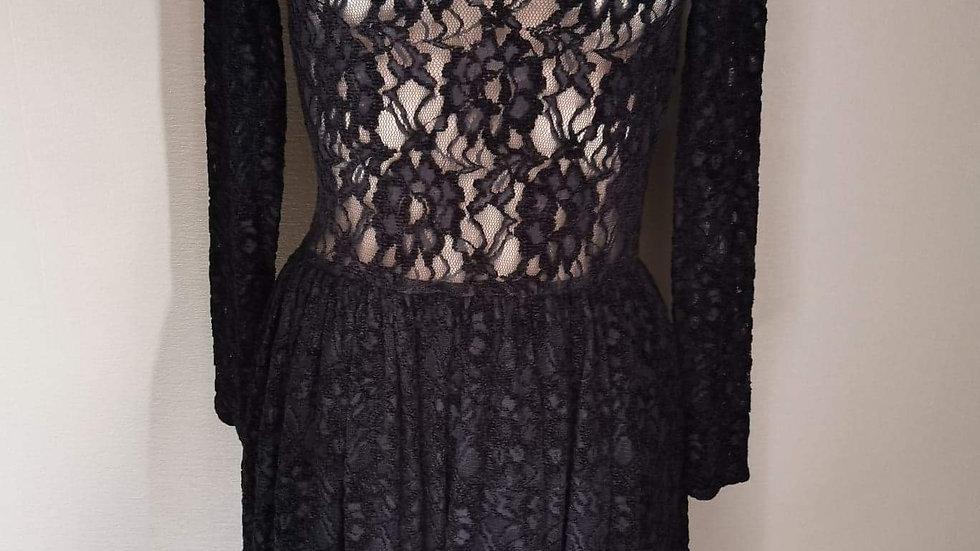 Doorkijk jurk