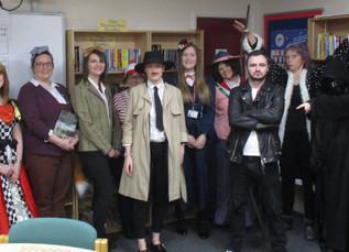 Students and staff celebrate World Book Day