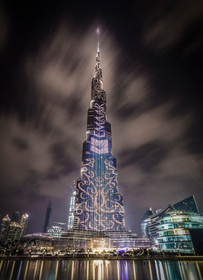 Burj Khalifa Dubai City Scape 20Nov16 Ro