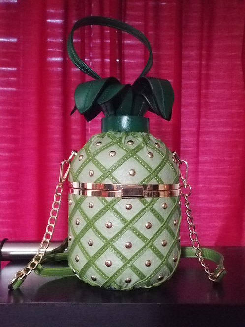 Green Pineapple Purse
