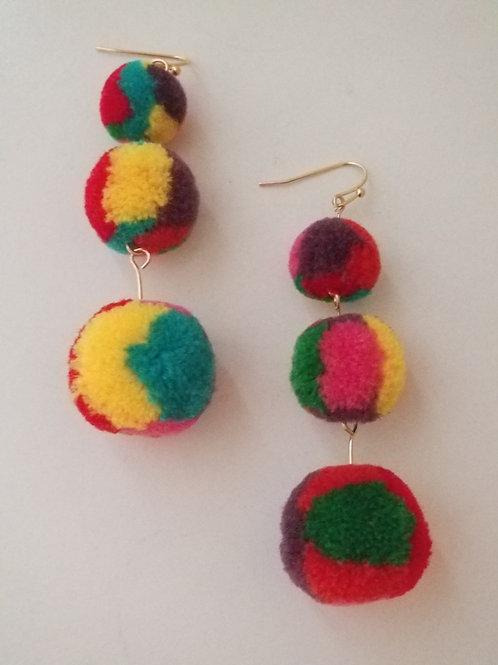 3 Layer Rainbow puff balls