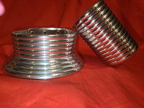 Silver Choker & Braclet Set
