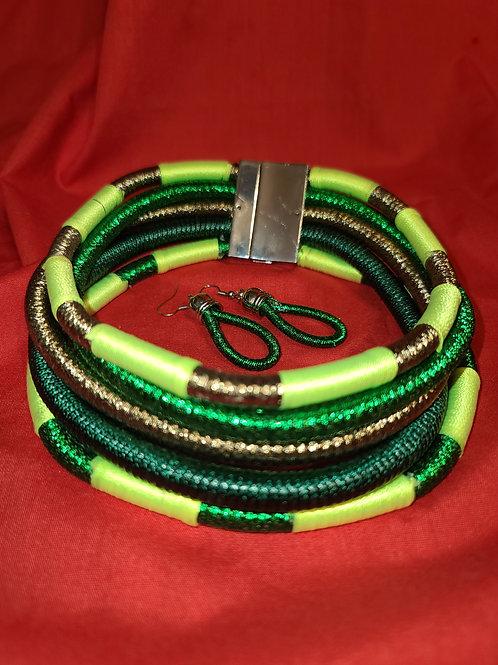 Tribal Green Set