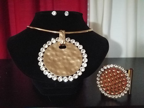 Metal & Rhinestones Set