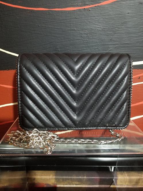 Black & Silver Clutch purse