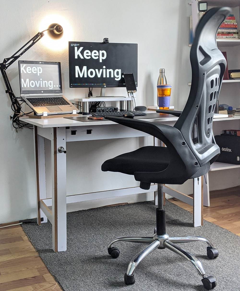 Creating a home office environment is vital for a work-from-home career-