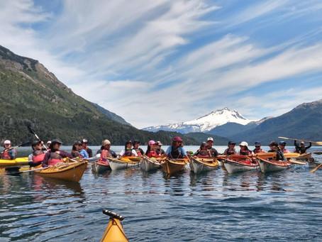 Bariloche kayak y trekking