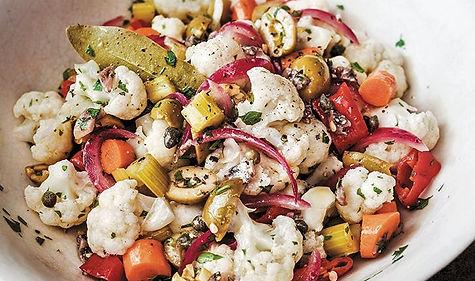 Cauliflower-Olive-Pepper-and-Caper-Salad