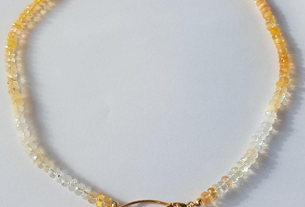 Fire Opal Necklace/Bracelet