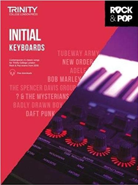 Trinity Rock & Pop Keyboards Grade Initial