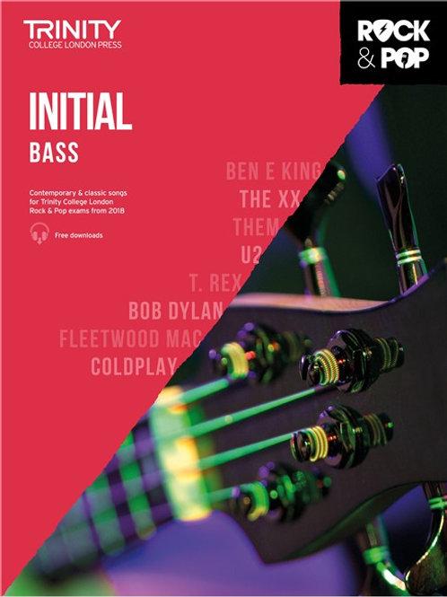 Trinity Rock & Pop Bass Grade Initial
