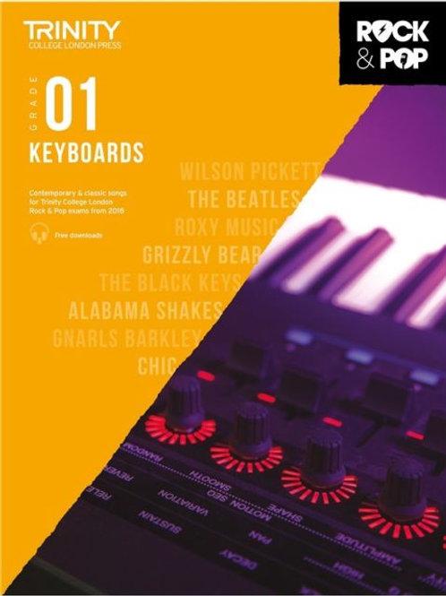 Trinity Rock & Pop Keyboards Grade 1