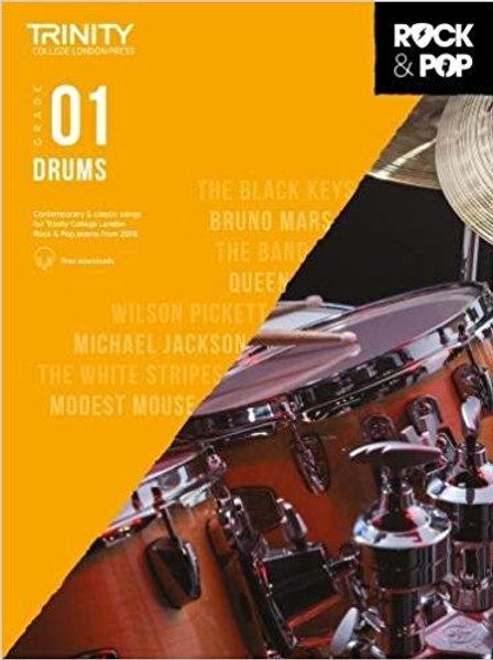 Trinity Rock & Pop Drums Grade 1