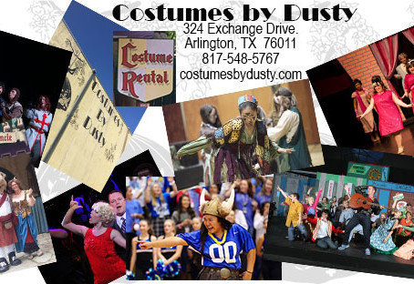 Welcome to the Costumes By Dusty Blog!