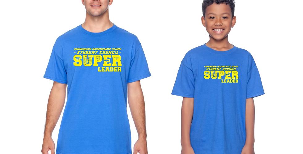 Cunningham Student Council Super Leader Tshirt
