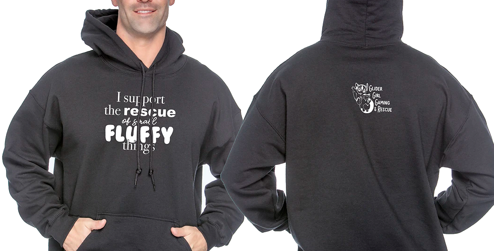 Rescue Small Fluffy Things Hoodie