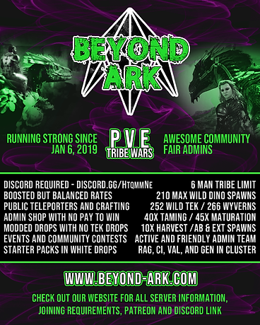 Beyond Ark tribe wars Ci release.png