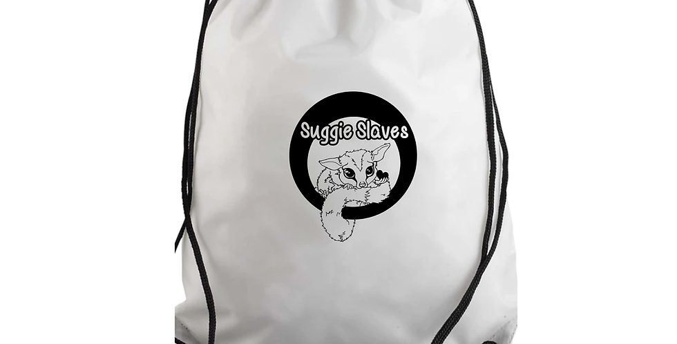 Suggie Slaves Drawstring Bag