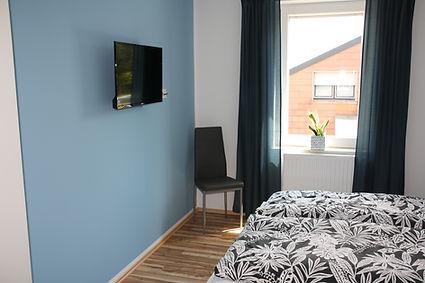 Ferienhaus Erdbeere Schlafzimmer 2 Bild1