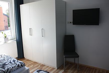 Ferienhaus Erdbeere Schlafzimmer 3 Bild1
