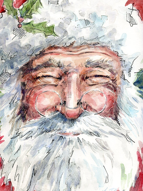 Jolly Old St. Nick (various sizes)
