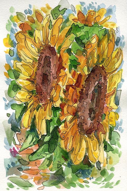 Sunflower Yellow (Original)