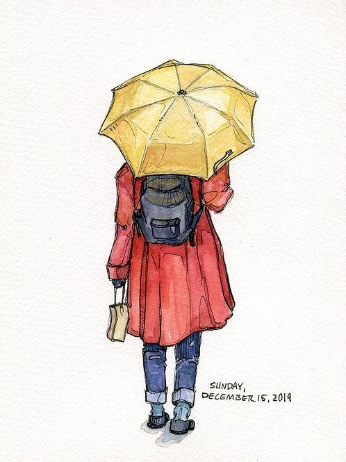 Yellow Umbrella (Original)